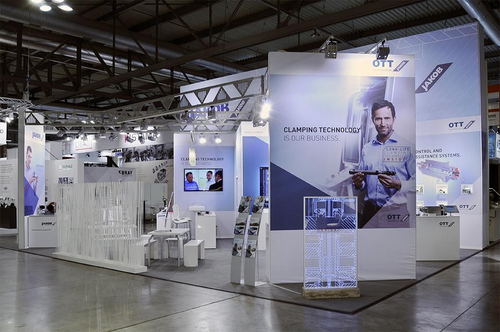 Ott Jakob - Unternehmen - Bild - Technical innovations and new brand identity at EMO