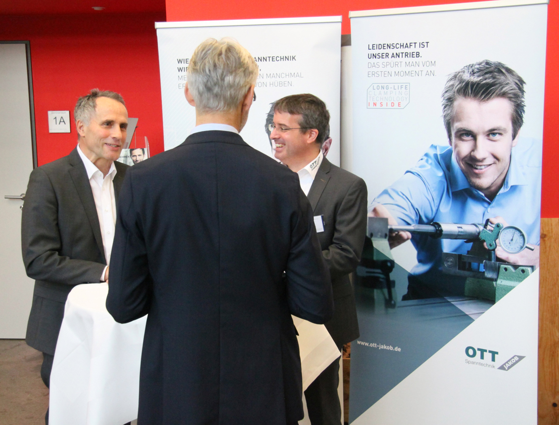 OTT-JAKOB - Unternehmen - Bild - OTT-JAKOB takes part in Machining Innovations Conference