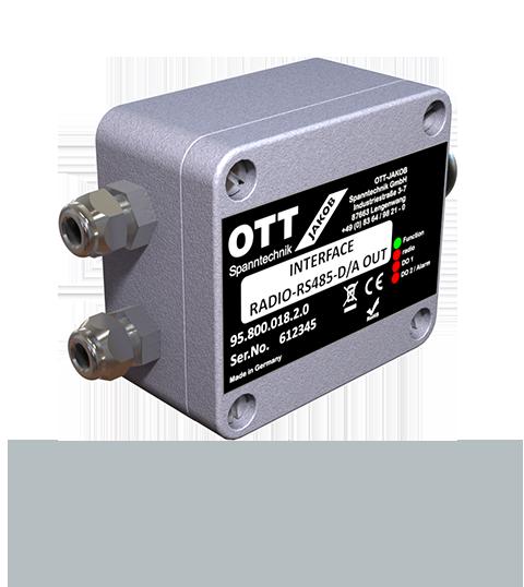 Produkte / Power-Check - Empfangseinheiten - Antenne bus RS485