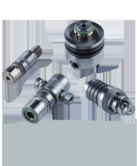 OTT-JAKOB Produkte - Manuelle Spanntechnik - マニュアル クランピング システム