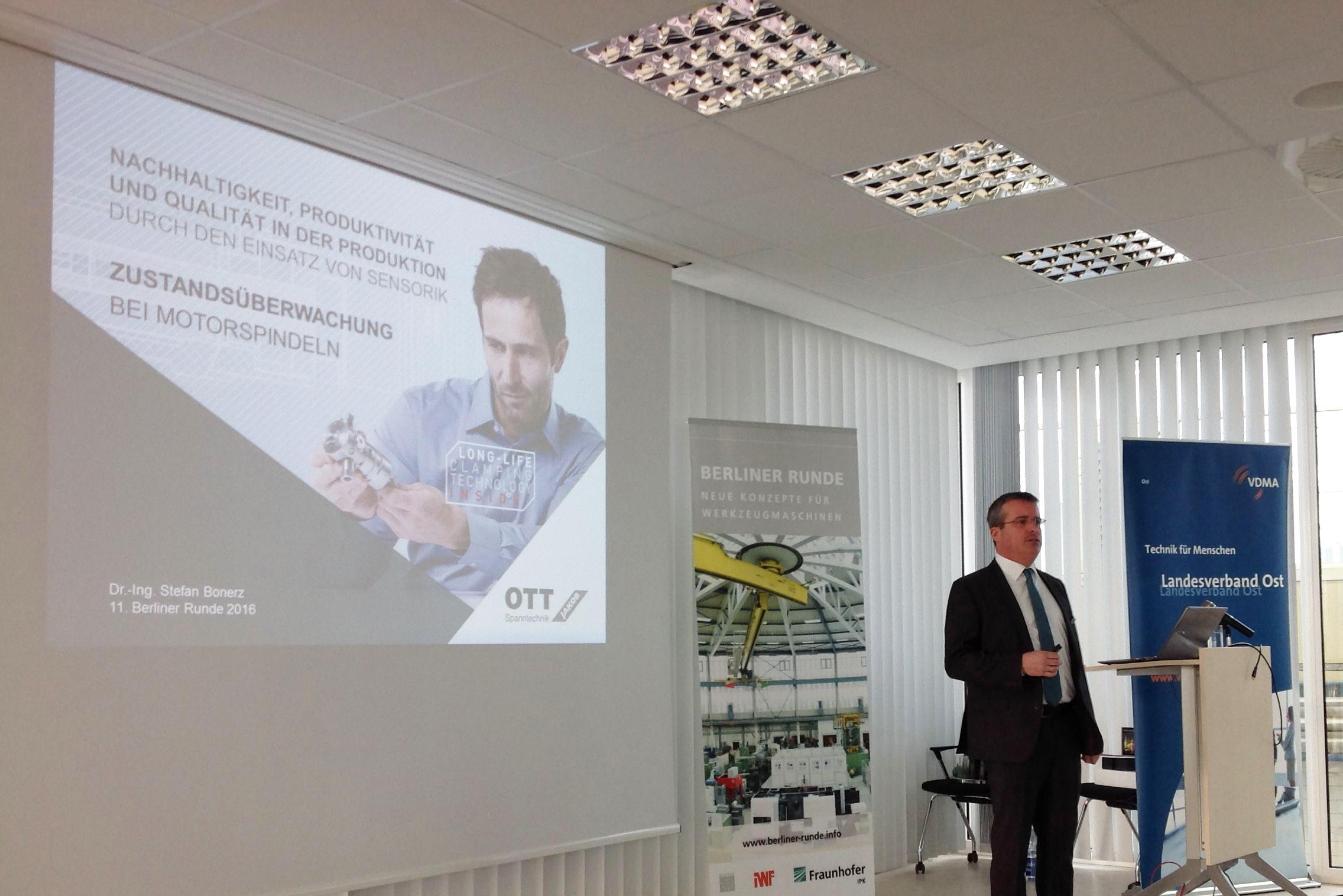 Ott Jakob - Unternehmen - Bild - OTT-JAKOB beteiligt sich an Berliner Runde 2016