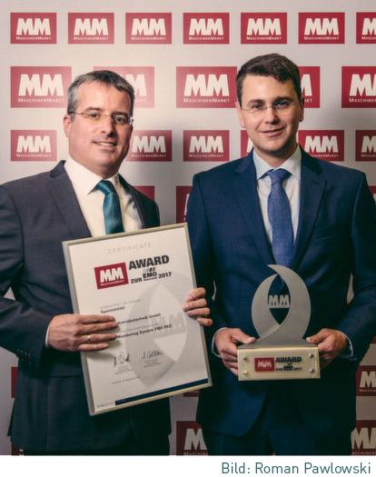 OTT-JAKOB - Unternehmen - Bild - Innovationspreis für digitales Krafterfassungssystem