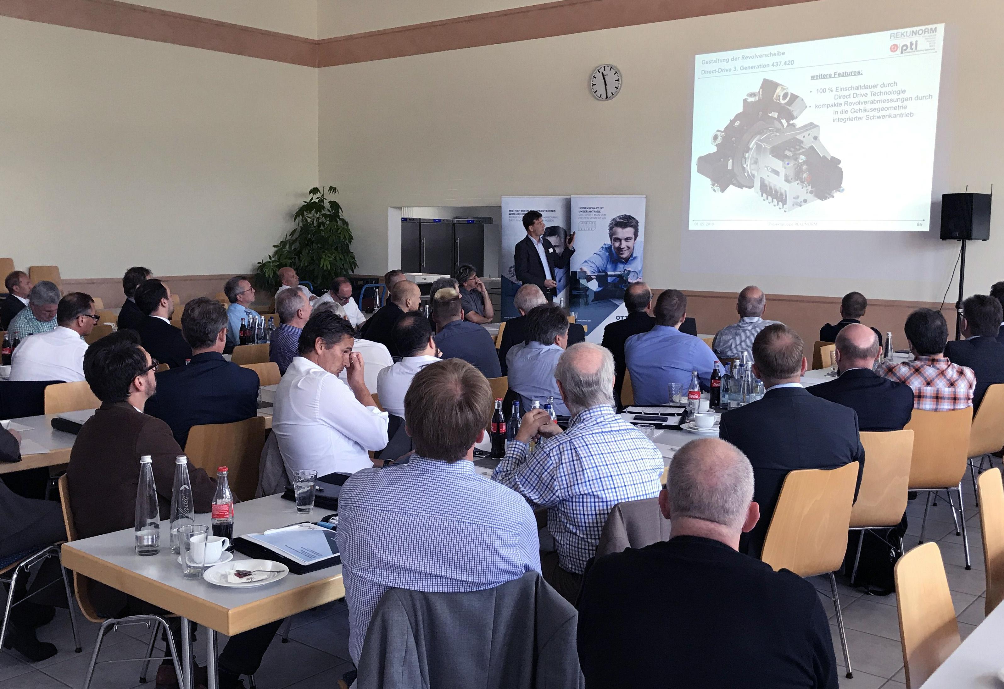 OTT-JAKOB - Unternehmen - Bild - Revolverschnittstelle pti mit innovativer Spanntechnik
